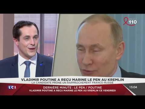 Nicolas Bay évoque la rencontre entre Marine Le Pen et Vladimir Poutine (LCI, 24/03/17, 15h)