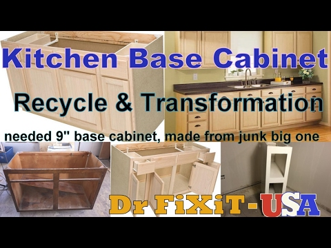 Kitchen Base Cabinet   Dr FiXiT- USA, Best DIY Projects