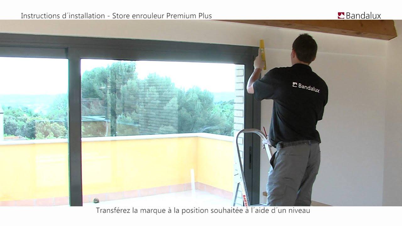 bandalux video installation store enrouleur premium plus neolux