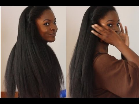 Sew In Weave Hair That Looks Like Real Natural Hair Youtube
