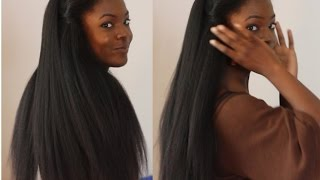 Sew In Weave Hair that Looks Like Real Natural Hair!