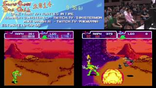 Summer Games Done Quick 2014 - Part 91 - Tmnt IV: Turtles In Time