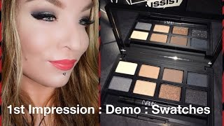 1st Impression : Demo : Swatches Nars Narsissist Matte Shimmer Palette Fall 2015