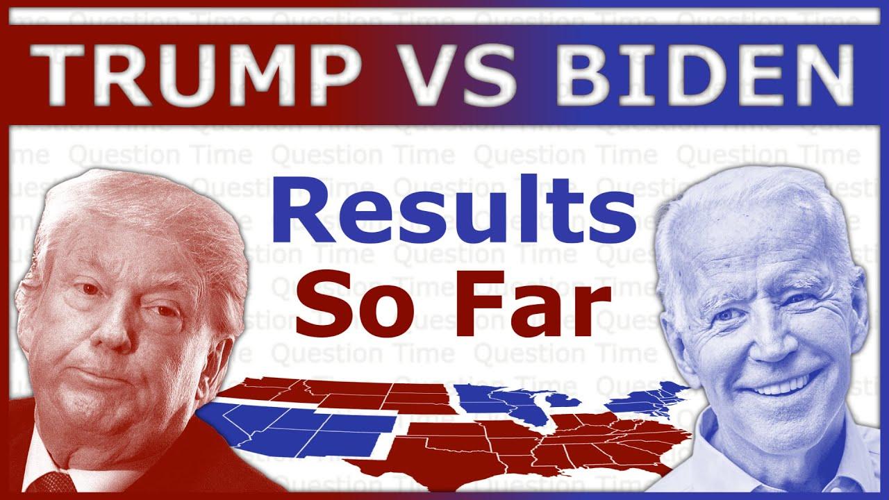 2020 Presidential Election Results So Far | Trump vs Biden | QT Politics