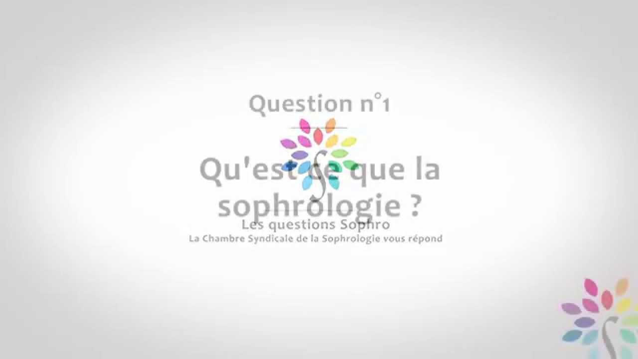 Qu'est ce que la sophrologie?