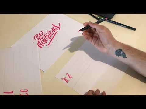 Phoenix Youth's Isolation Creations - Camilo Delgado, Calligraphy Workshop (Part One)