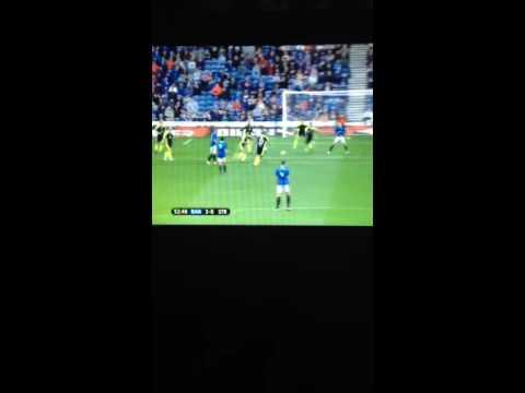 Rangers FC wondergoal niko kranjcar must see wow