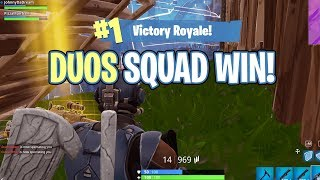INSANE DUO SQUAD WIN WITH TRENT! - FortNite Battle Royale Ep. 17