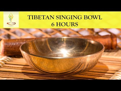 6 Hours Amazing Healing Vibration ~ Pure Tone Singing Bowl Meditation ~ Tone G