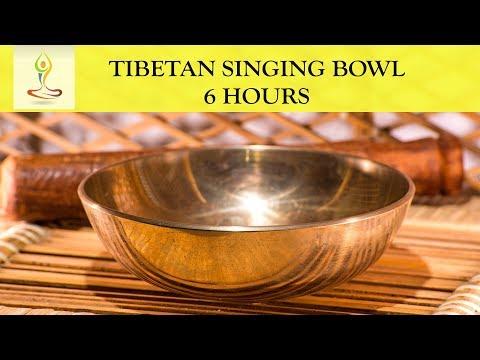 6 Hours Amazing Healing Vibration ~ Pure Tone Singing Bowl Meditation ~ Tone G