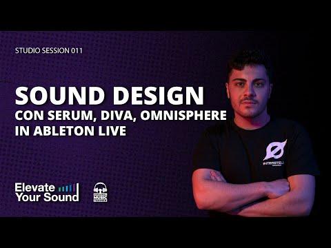 SOUND DESIGN CON OMNISPHERE, SERUM, DIVA [STUDIO SESSION 011] [MELODIC TECHNO]