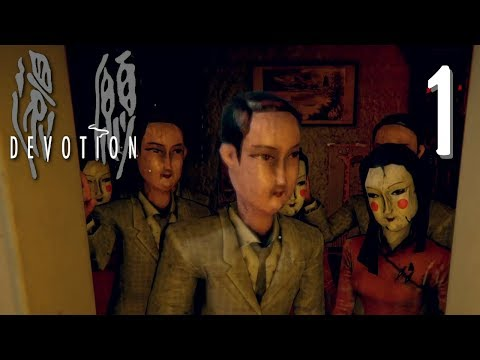 Devotion - TAIWANESE HORROR GAME (Detention Spiritual Sequel) Manly Let's Play [ 1 ]
