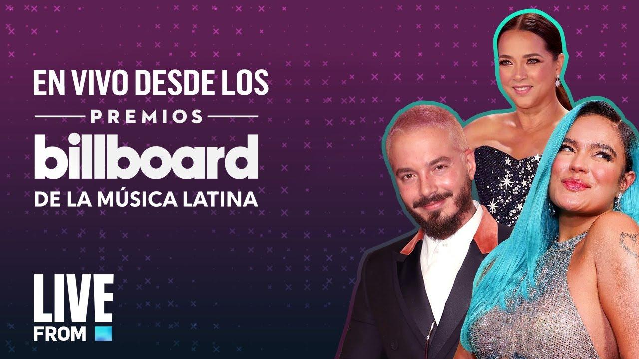 EN VIVO desde los Premios Billboards a la Música Latina 2021: Mira la llegada de los famosos