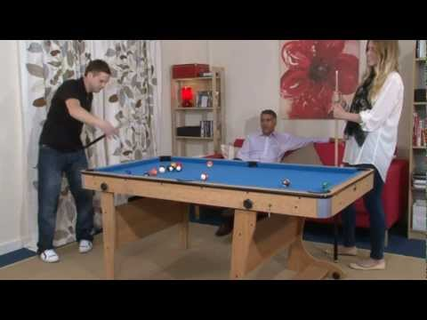 Superbe MadFun.co.uk   6ft Folding Leg Pool Table BCE FP 6