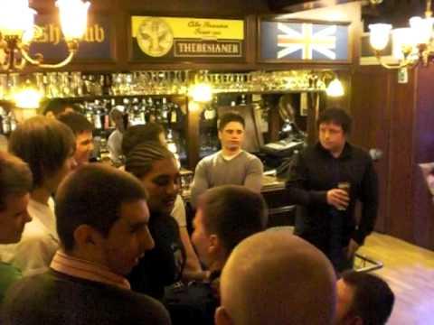 Llandaff Italy Tour 09 - Kangeroo Court, English Pub