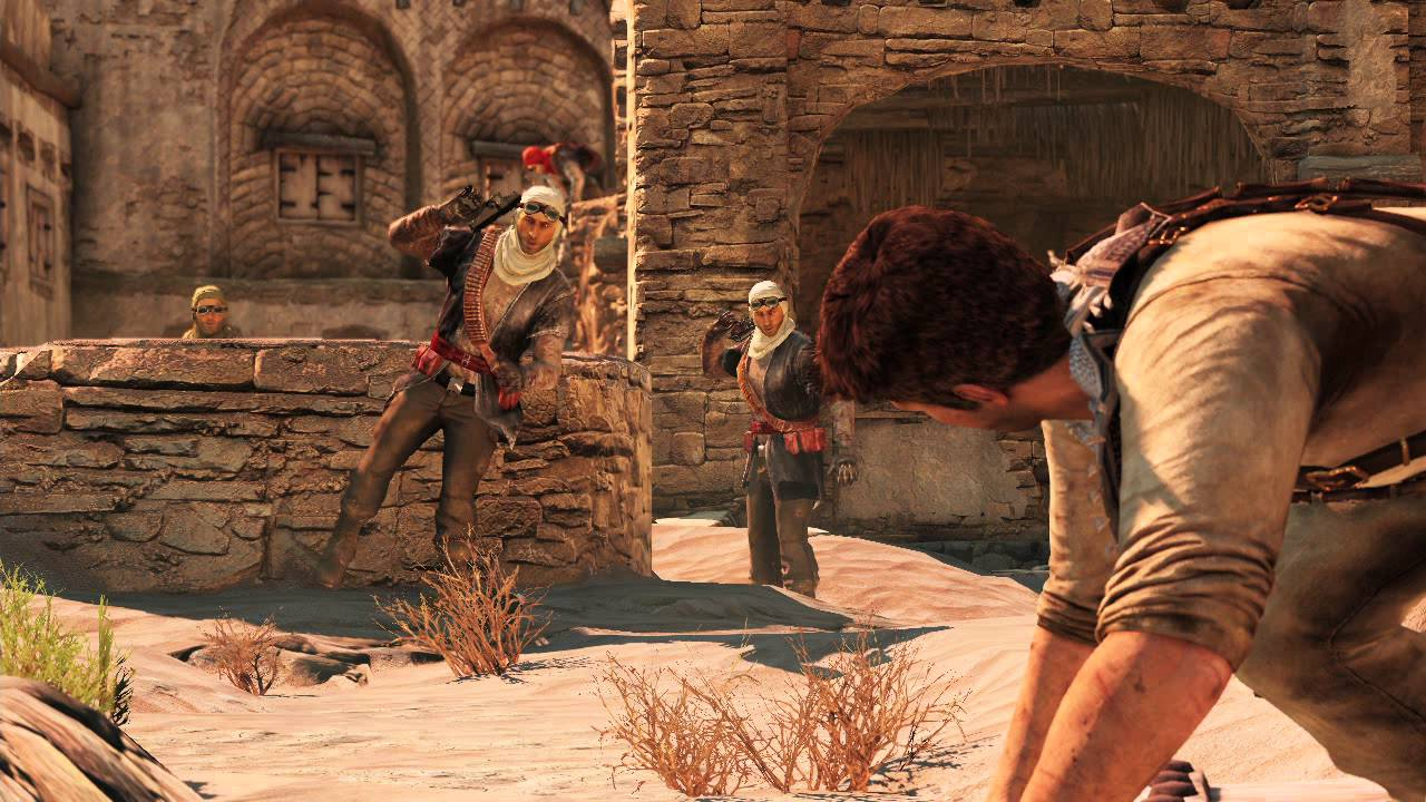 Desert Village Gameplay - UNCHARTED 3 Jordan Event - YouTube