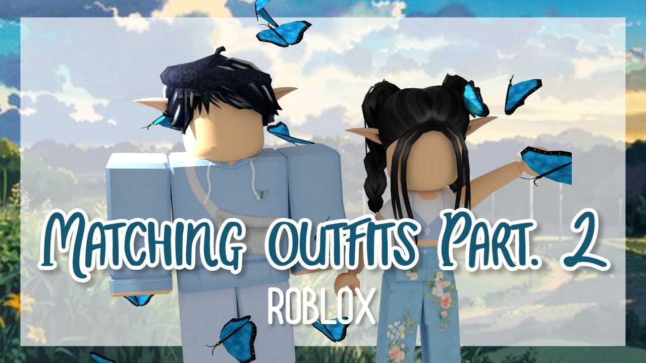 5 Aesthetic Matching Outfits Pt 2 Roblox :° 🦋 YouTube