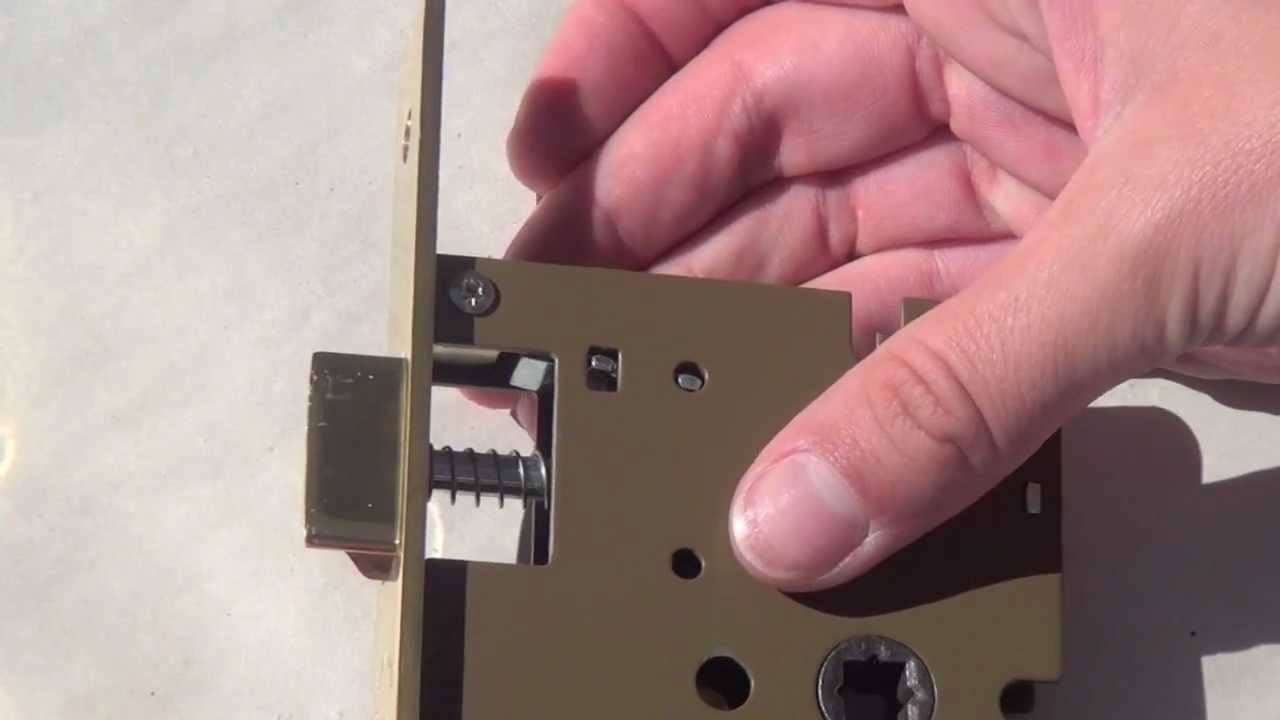 How To Rehand A Single Point Mortise Lock Replacement For