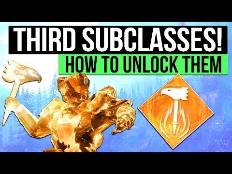 DESTINY 2 PC | How To Unlock A Third Subclass: Sunbreaker, Nightstalker & Stormcaller Quests!