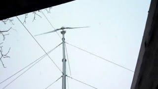 Обзор работы, моего ветрогенератора