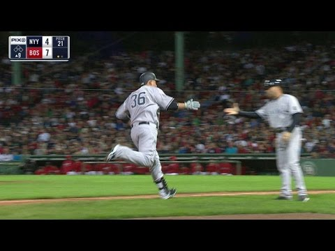 NYY@BOS: Butler launches his first homer as a Yankee