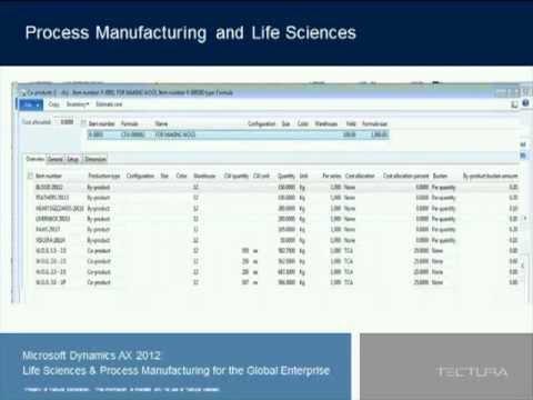 Microsoft Dynamics AX 2012 Life Sciences Process Manufacturing