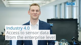 Industry 4.0: Access to sensor data from the enterprise level | SICK AG