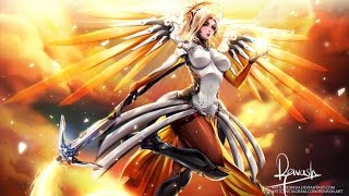 Mercy in Competitive Overwatch ft. McCreamy :3