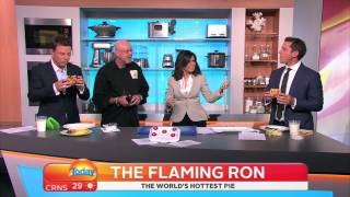 Today Show - Karl Eats Worlds Hottest Pie