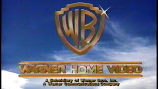 Warner Home Video (1987) Company Logo (VHS Capture)