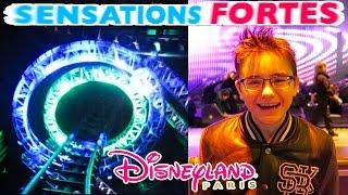 vlog sensations fortes a disneyland paris parc d attractions et manges