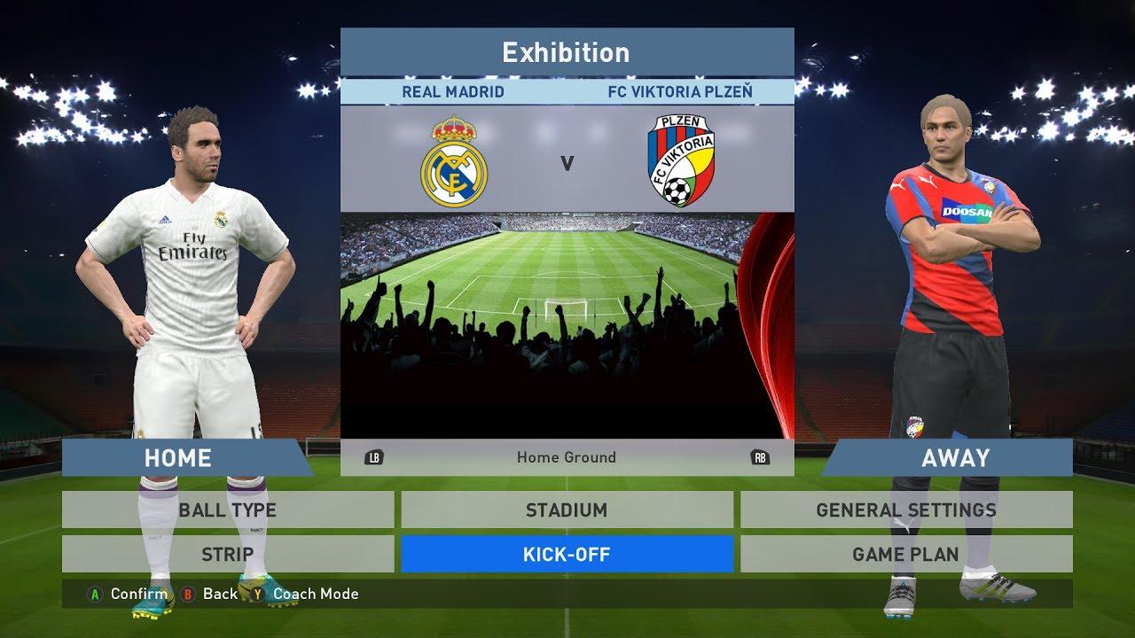 Image Result For Viktoria Plze Vs Real Madrid