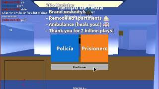 my first video of Roblox and my two accounts