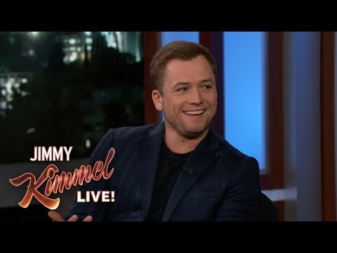 Taron Egerton on Friendship with Elton John & Playing Him in Rocketman