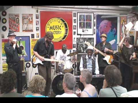Henry Gray @ Louisiana Music Factory JazzFest 2009