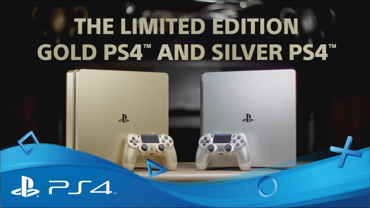 Unboxing The Limited Edition Gold & Silver PlayStation 4 Consoles