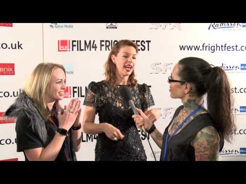 Film4 FrightFest 2015 - Pollyanna McIntosh On The Red Carpet