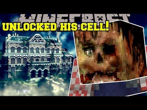 Minecraft: I UNLOCKED HIS CELL!! - THE ASYLUM - Custom Map
