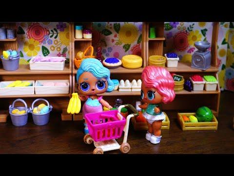 Lol Surprise Dolls Go Shopping For Barbie!