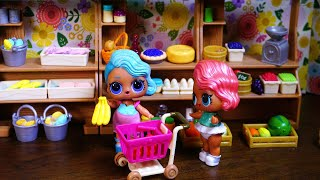Lol Surprise Dolls Go Shopping For Barbie!