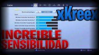 ESTA SENSIBILIDAD TE HARA SER DE LOS MEJORES JUGADORES DE FORTNITE!!! | xKreex