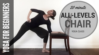 20 Minute All-Levels Chair Yoga Class