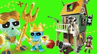 Playmobil ☠ Zamaskowany fort piracki  Treasure X ⚓ unboxing