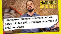 Andersin autotalli: nikotiinipussit, Finnairin turvavälit ja rokotejono
