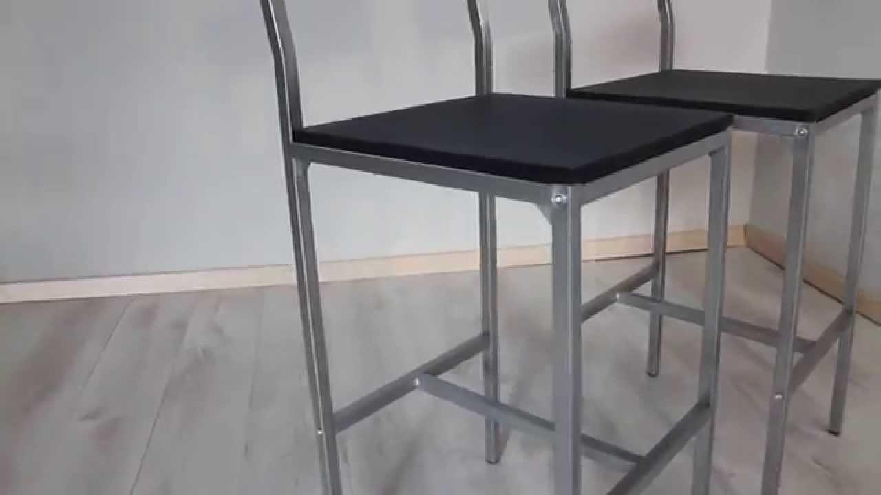 Set 2 sgabelli bar mod. rimini in vendita su yelloo.it youtube