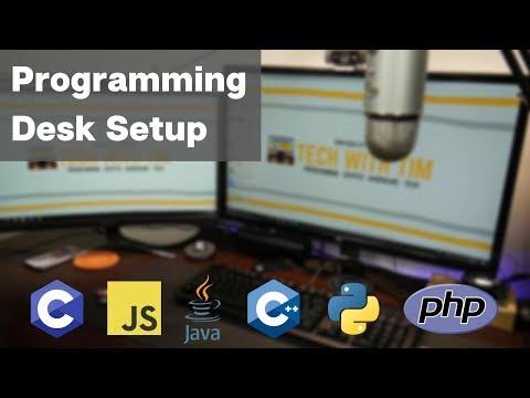 A Proper Programming Setup (Computer Science Student Desk Setup)