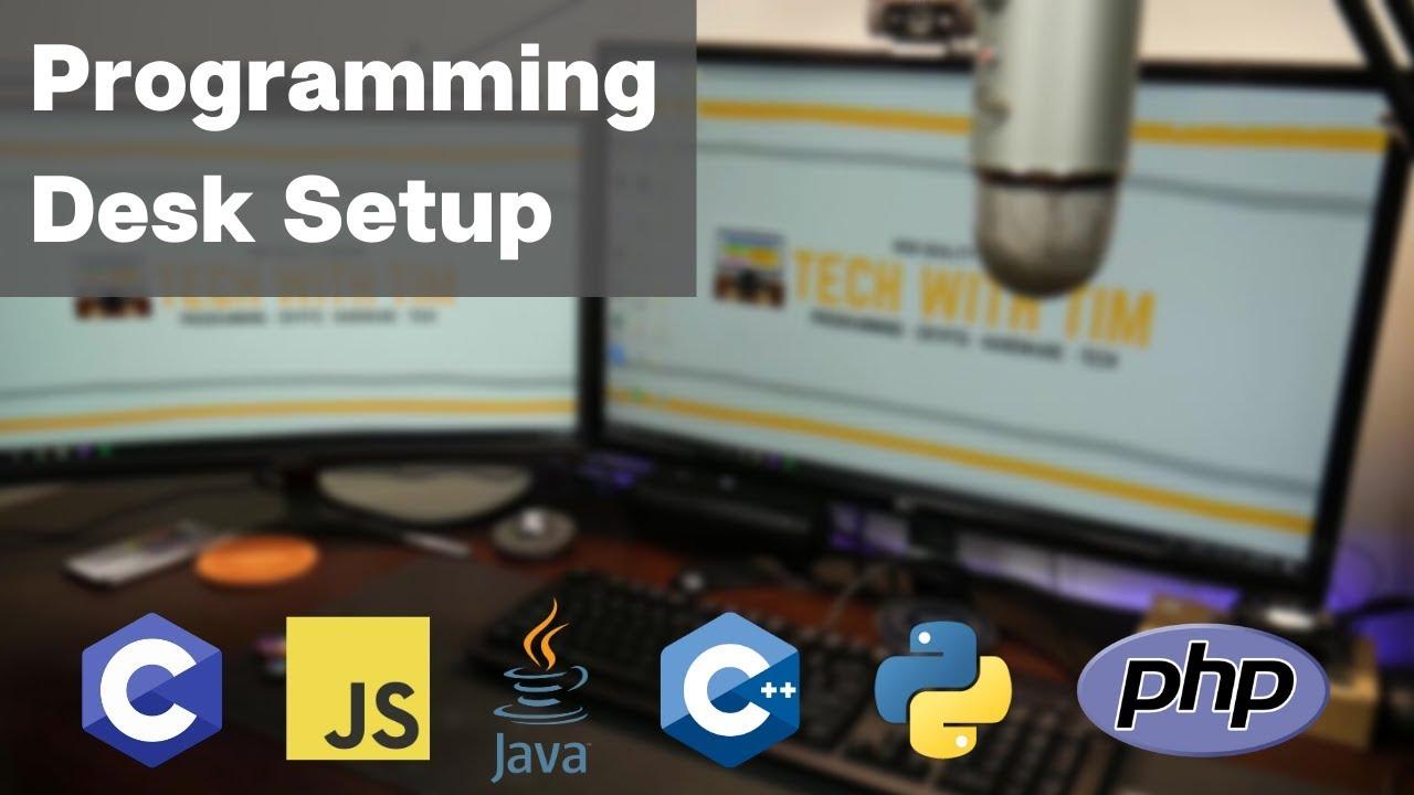 - A Proper Programming Setup (Computer Science Student Desk Setup