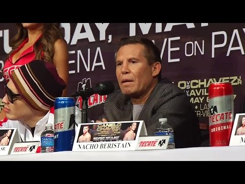 """CHAVEZ SR TELLS CANELO """"'LETS STOP WITH THE MAMADITAS!!"""" THIS FIGHT WILL PARALYZE MEXICO"""