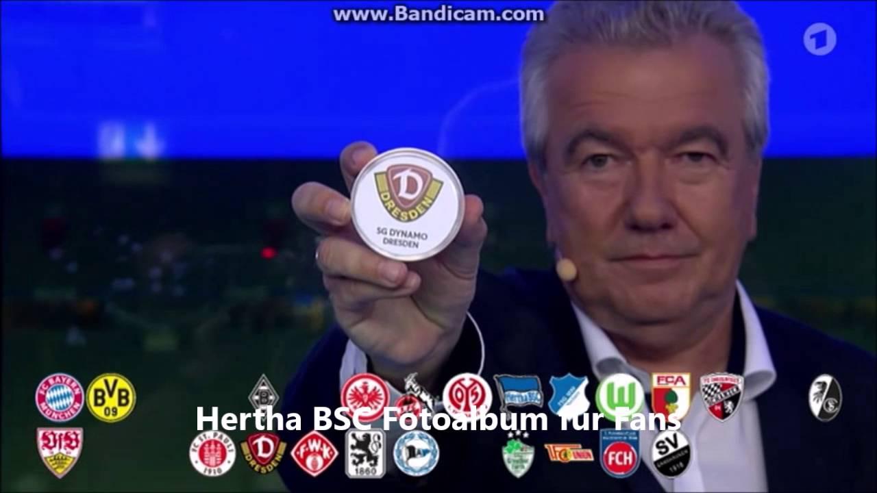 Dfb Pokal Auslosung 3 Runde Live