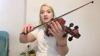 Violin with Amy Bache - learn to play 'Tap Dance' from Fiddle Time Joggers.